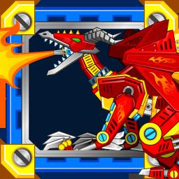 机器人恐龙战士...