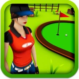 3D迷你高尔夫球...