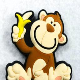 猴子吃到了什么?...