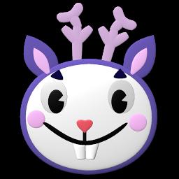 可爱兔子装