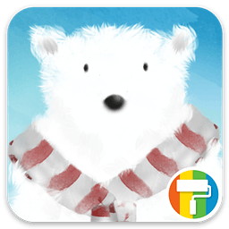 忍者北极熊拍冰...