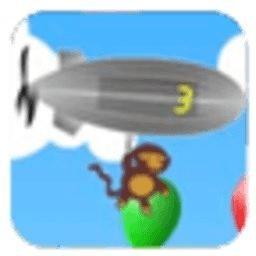 小猴子热气球之...