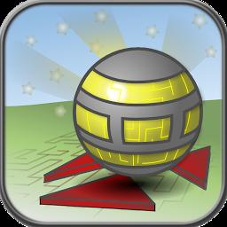 平衡木小球