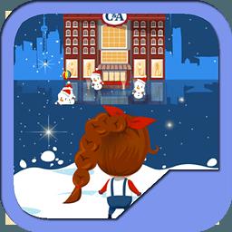 圣诞打雪仗