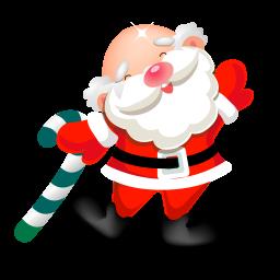 暴走的圣诞老人...