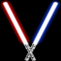 黑暗武士的光剑...