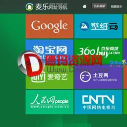 绿色风格仿卢松松博客 1.0