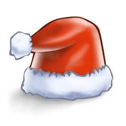 矢量圣诞帽子图