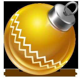 圣诞节彩球图标下载