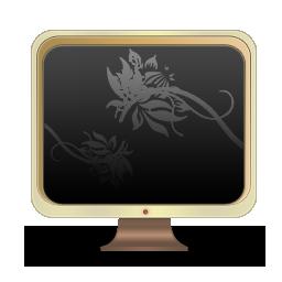 花纹电脑文件图标下载