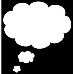 炫彩圆形泡泡对话框素材