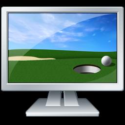 绿色电脑图标下载2