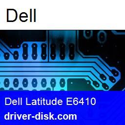 DELL Latitude E6410 Drivers Utility 6.6