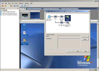 VMware Workstation截图1