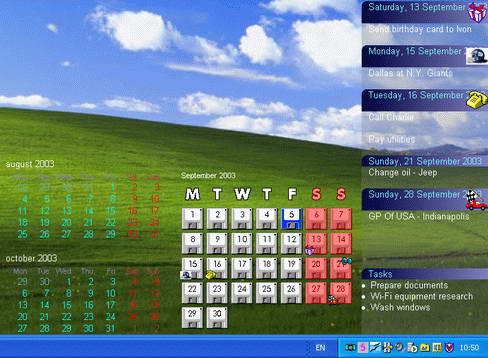 Active Desktop Calendar截图1