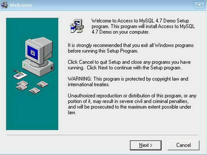 Access-to-MySQL截图1