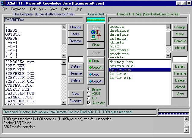 32bit FTP截图1