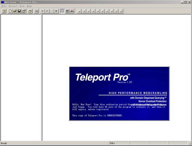 Teleport Pro截图1