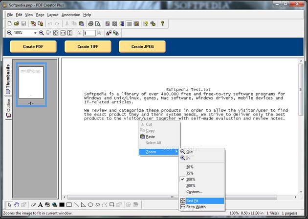 PDF Creator Plus截图1