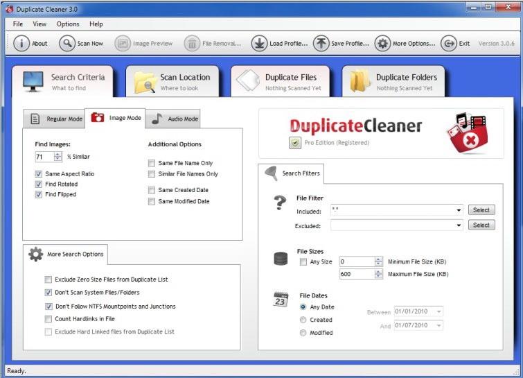 Duplicate Cleaner Free截图1