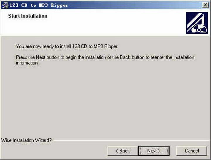 123 CD to MP3 Ripper截图1
