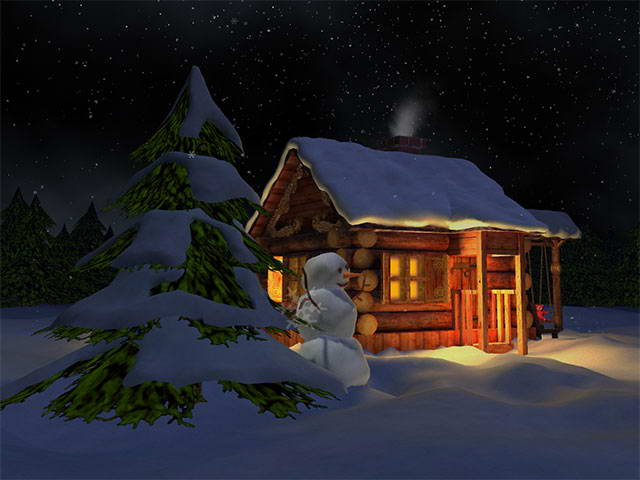 3D Mild Winter Screensaver截图1
