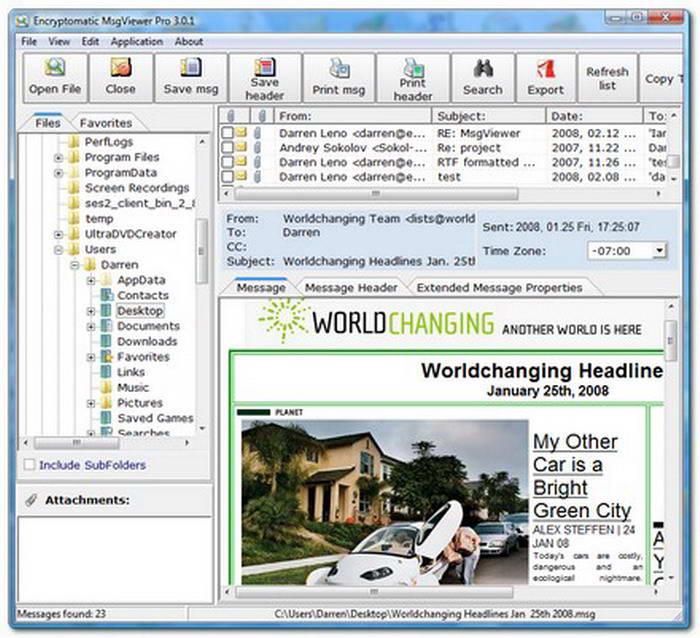 MSGViewer Pro截图1