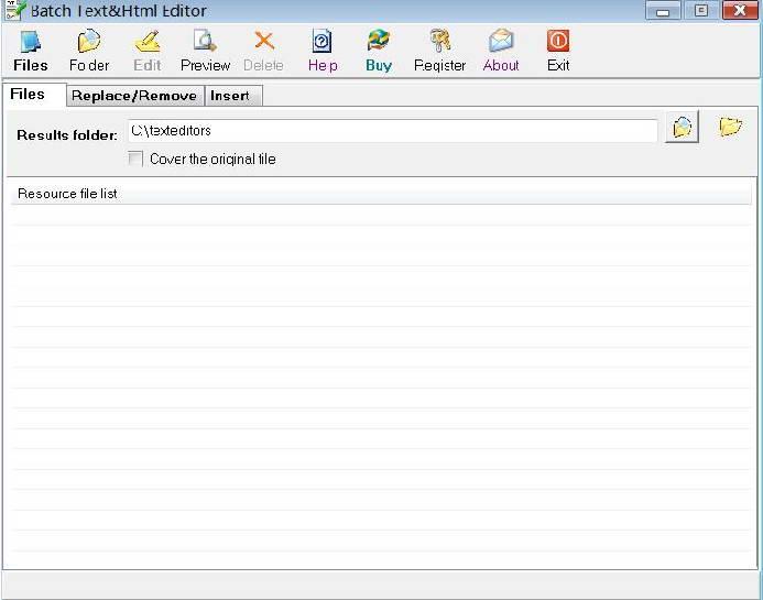 Batch Text&Html Editor截图1