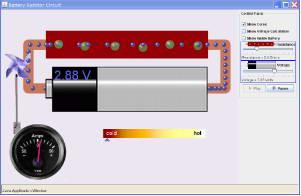 Battery-Resistor Circuit截图1