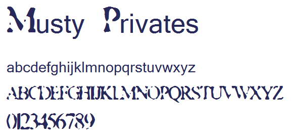 Musty Privates