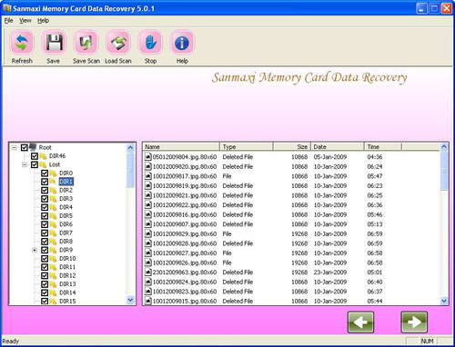 Memory Card Data Rescue Tool截图1
