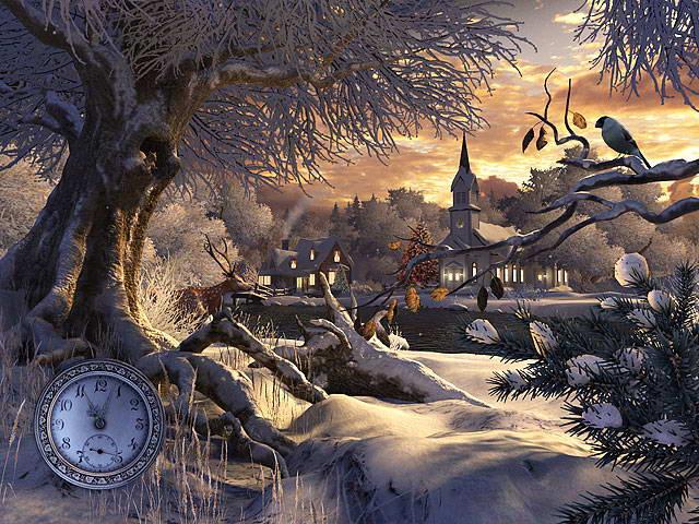Winter Wonderland 3D Screensaver截图1
