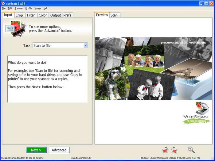 VueScan For Linux (x64)截图1