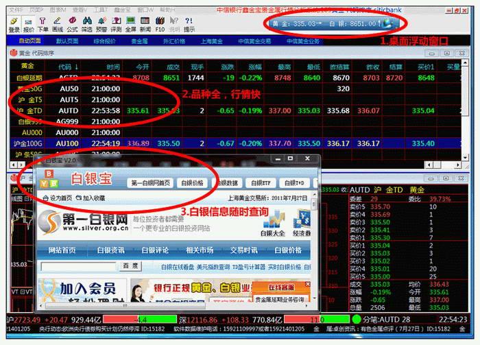 白银宝-白银行情分析软件截图1