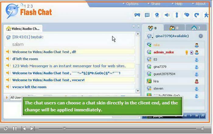 123 Flash Chat Server 64bit截图1