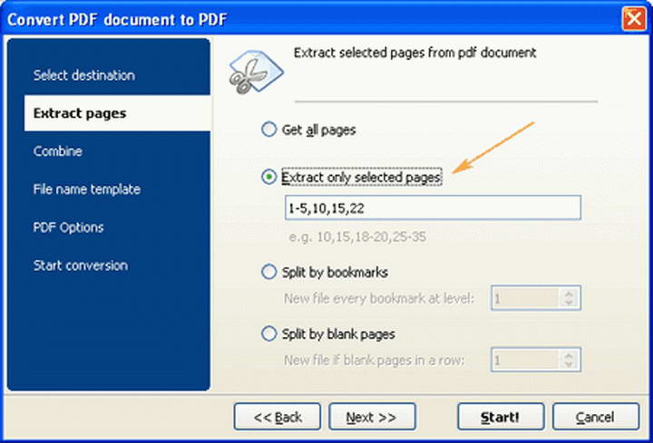 Extract Content from PDF file截图1