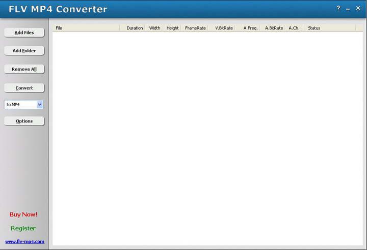 HooTech FLV MP4 Converter截图1