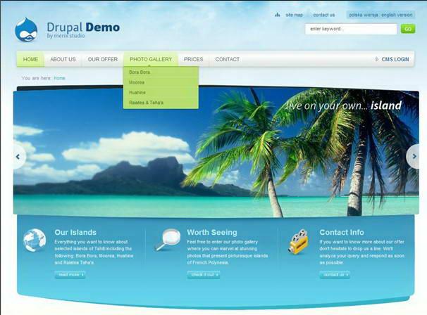Drupal For Linux截图1