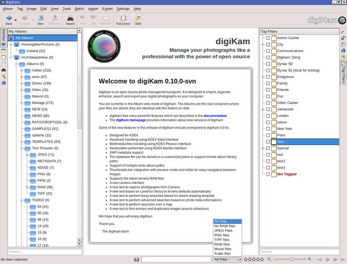 digiKam For Linux截图1