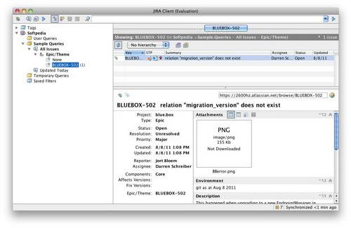 JIRA Client For  Mac截图1