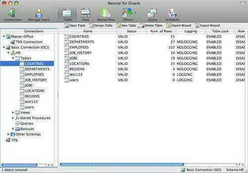 Navicat for MySQL For Mac截图1