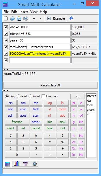 Smart Math Calculator For Mac截图1