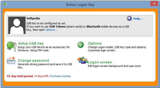 Rohos Logon Key For Mac截图1