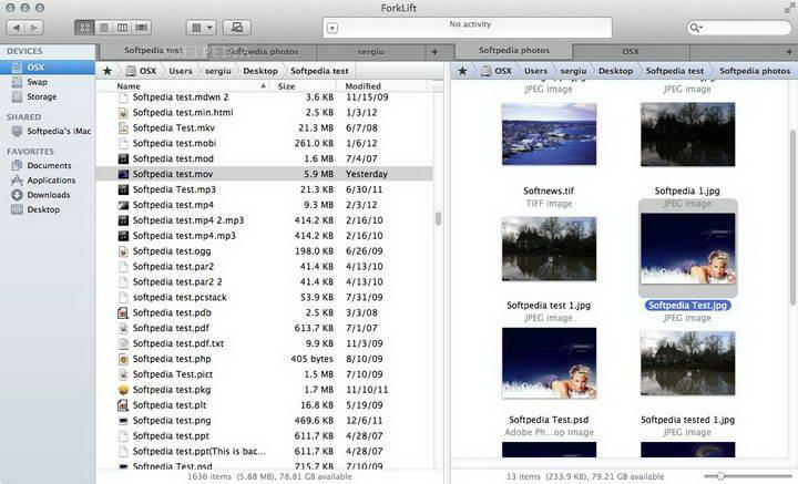 ForkLift For Mac截图1