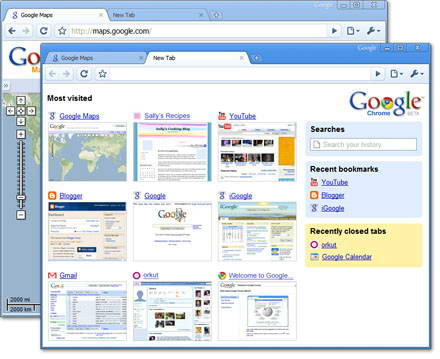 谷歌浏览器Google Chrome For Mac截图2