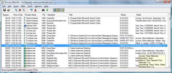 Process Monitor截图1