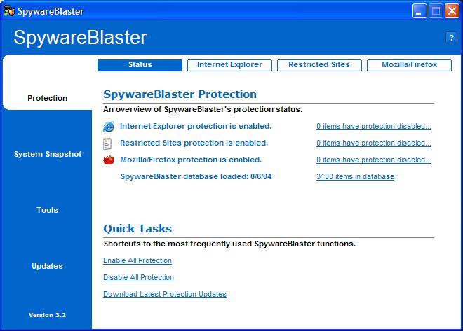 SpywareBlaster截图1