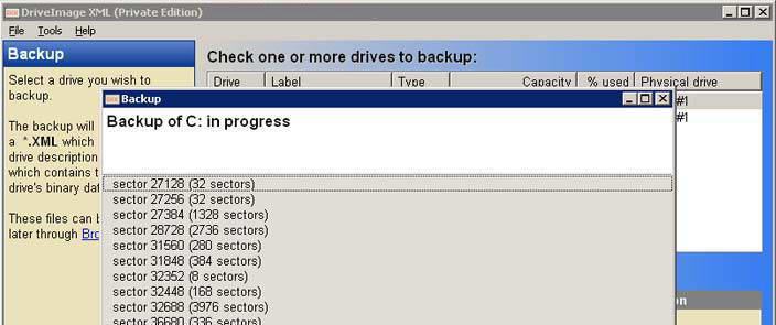 DriveImage XML截图1