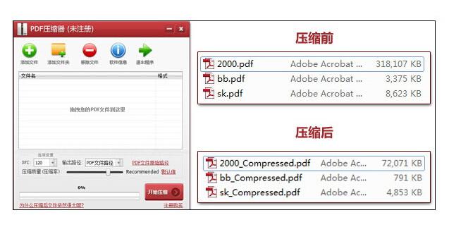 PDF压缩器截图2