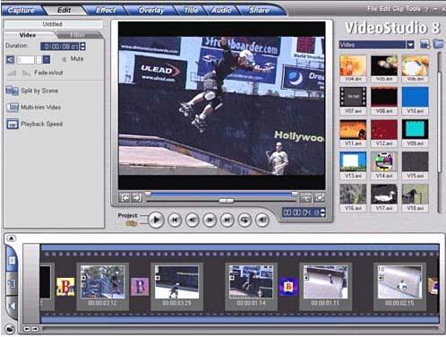 会声会影X7(Corel VideoStudio)截图1